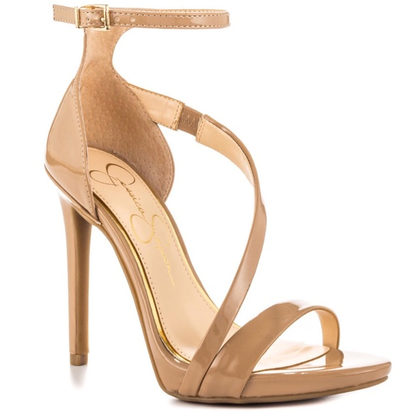 578046fb94ec Jessica Simpson Shoes - Jessica Simpson Nude Patent Rayli Dress Pump